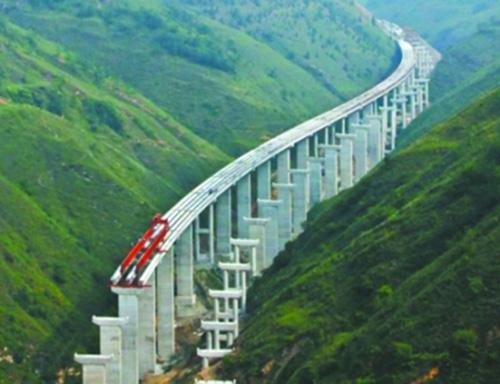 三淅高速公路:峡谷跃飞龙