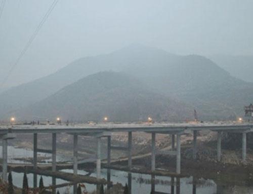 混凝土外加剂产品在内邓高速第一标桥梁应用